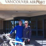 Fairmont BMW bikes were a pleasure to ride along Vancouver's seawall