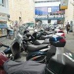 Located near Termini Station