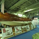 beautiful timber skinned flying boat
