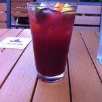 Delicious red wine sangria