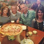 Great Brick Oven Pizza! Great Crowd!
