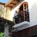 Balcony off Colibri room