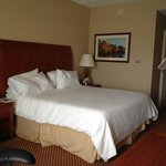 Hilton Garden Inn Groton, king-bed room