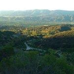 views of Ojai during morning hike