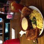 Bloody Mary & Egg Scramble