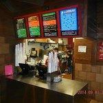 Cook Out Harrisonburg VA Ordering Station Counter