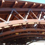 Rancheria Portico Woodwork.