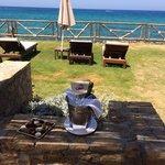 ikaros Beach - unser Blick aus unsere Suite