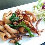 deep-fried sun-dried calamari