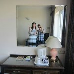 The room was nice and good enough for us!