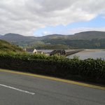 Bridge to get to Barmouth at end of walk from Dolgellau