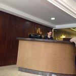 Recepção do hotel os funcionários sempre muitos gentis.