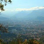 Grenoble vista das montanhas