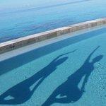 Meditazione in piscina
