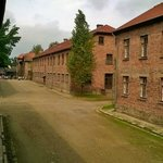 Auschwitz grounds