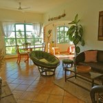 Casita Nopal Living/Dining area