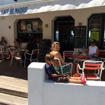 Coolest place to hang out at on the French Basque coast.  Great food, great fare, and only got t