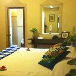 our room at Morley Cottage