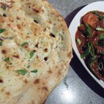 Chicken Devel (Chef Special) with Naan Bread
