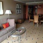Comfortable spacious suite