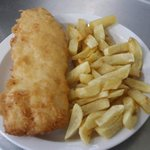 Now that's what I call fish and chips. Yummmn