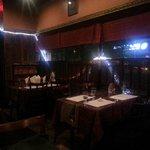 The restaurant setting