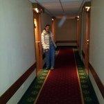 Pasillo y entrada habitación
