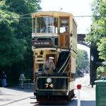 Tram rides at Crich