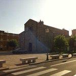 Cerca de la iglesia
