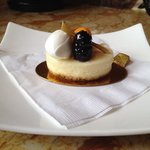 New York cheesecake from the cafe