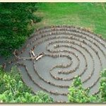 Driftwood Labyrinth