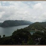 Idukki dam view from the park on top