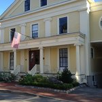 This exquisite landmark Bed & Breakfast welcomes visitors on tree-lined Prentiss Street. It feel