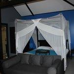 la chambre du bungalow