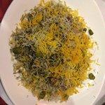 arroz con habas eneldo y cordero