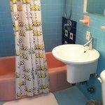 Bathroom of 207 - very clean.