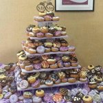 Donut cakes and donut towers