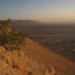 Вид с горы Массада