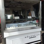 The Movenpick ice cream stall outside the hotel