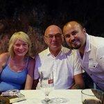 At charla's lovely restaurant inci!