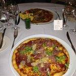 pizza deluxe à l'huile de truffe