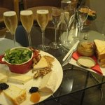 Champagne tasting at C Comme