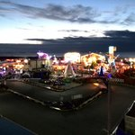 Nice view of Knightly's Funfair