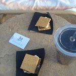 S'mores poolside?! Heck yes!