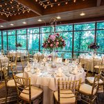 Our indoor wedding space is surrounded by beauty and nature.