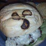 Prop's On Long Lake - Burger Bun Prop Branding - Nice touch - Sarona
