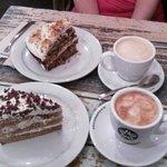 Tartas caseras y cafés