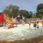 Panorama picture of the wonderful kids pool