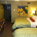 Comfortable room - but no air con