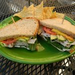 One of our most popular sandwiches the Turkey Avocado!